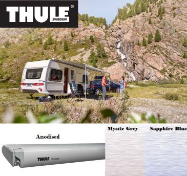Thule Omnistor 6300 Awning Anodised for vans, caravans and motorhomes